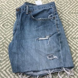 Levi's Shorts - 😎Levi's 559 Cutoffs distressed high waist💯cotton
